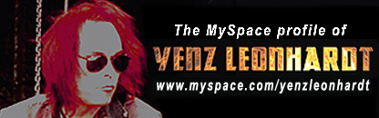 MySpace profile - Yenz Leonhardt of Iron Savior, Lacrimosa, Savage Circus, Stormwarrior